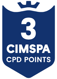 CIMSPA CPD points logo